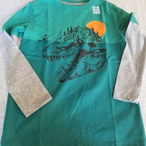 2-in-1 Graphic Crew-Neck Tee for Boys